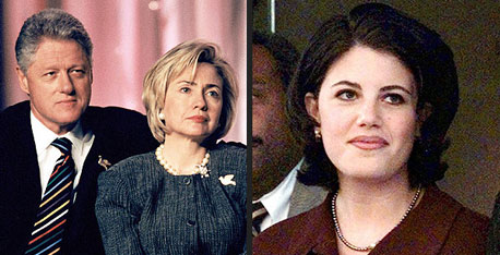 Bill & Hillary Clinton - Monica Lewinsky
