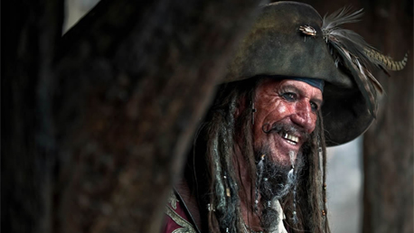 Keith Richards (Pirates Of The Caribbean)