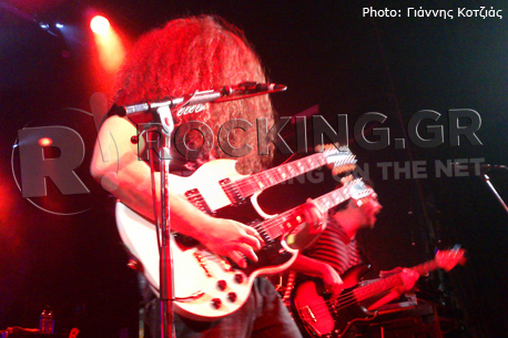 Coheed And Cambria, Utrecht, Netherlands, 03/11/12