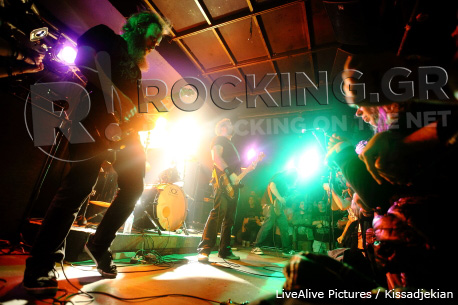 Red Fang, Athens, Greece, 22/04/12