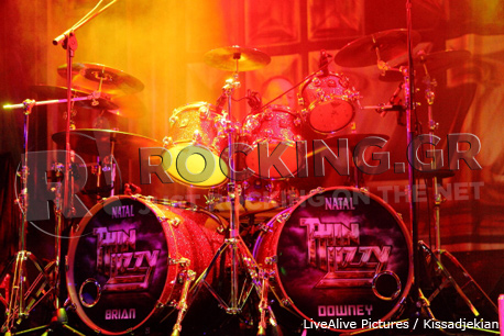 Thin Lizzy, Athens, Greece, 09/11/12
