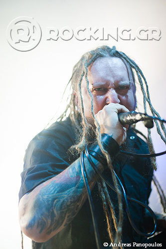 Decapitated, Athens, Greece, 16/11/13