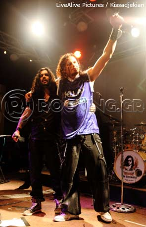Jeff Scott Soto - Danger Angel, Athens, Greece, 26/04/13