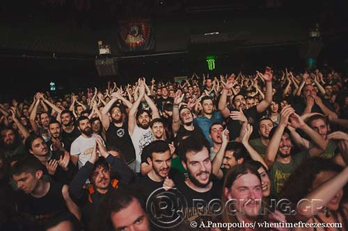 Crowd, Athens, Greece, 04/04/14