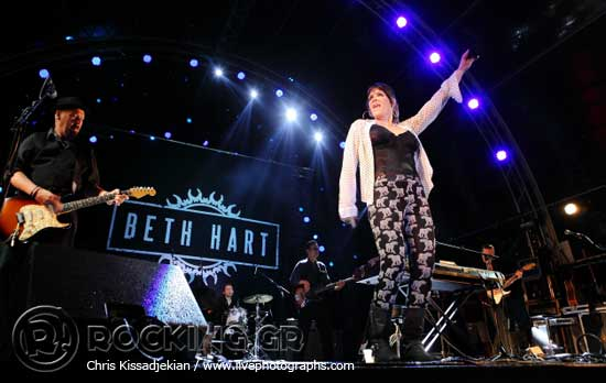 Beth Hart, Athens, Greece, 30/06/15