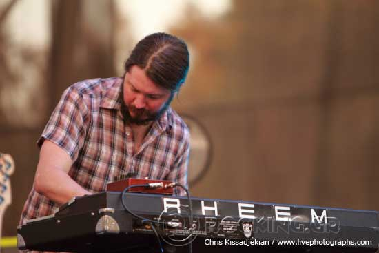 The Black Angels @ Rockwave Festival, Athens, Greece, 30/05/15
