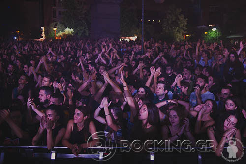 Crowd, Athens, Greece, 25/09/15