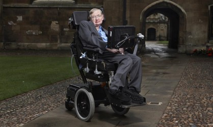 Ο «rock star» Stephen Hawking…