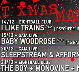 The LoveLight productions Xmas Massacre: 14-15 & 20-21 Δεκεμβρίου
