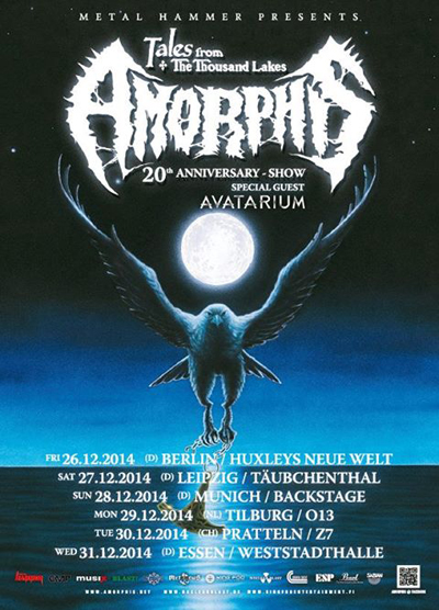 Amorphis - Tales From The Thousand Lakes 20th Anniversary Show
