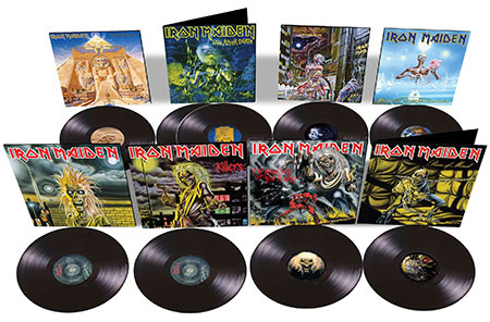 Iron Maiden vinyls