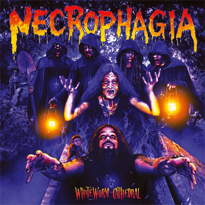 Necrophagia - WhiteWorm Cathedral (digipack)