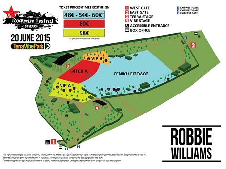 Robbie Williams - Terra Vibe Park