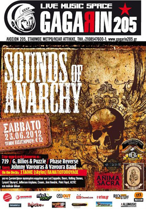 Sounds Of Anarchy @ Gagarin205