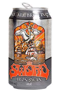 Iron Swan beer by The Sword