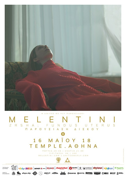 Melentini & The Running Blue Orchestra Αθήνα @ Temple Athens