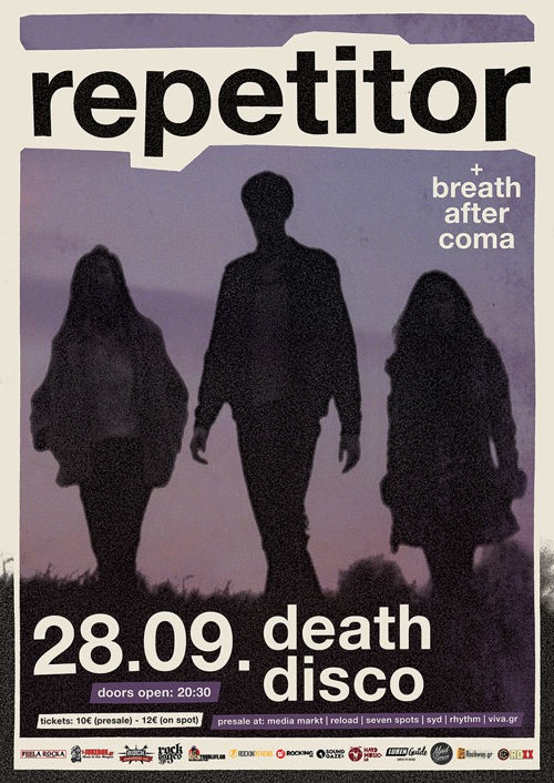 Repetitor, Breath After Coma Αθήνα @ DeathDisco