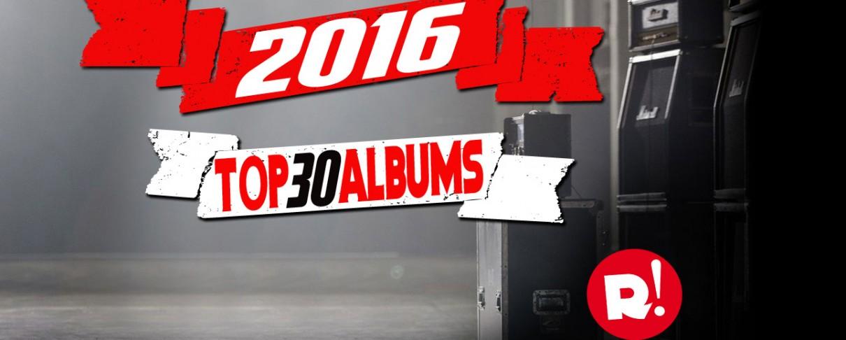 Τα 30 καλύτερα άλμπουμ του 2016