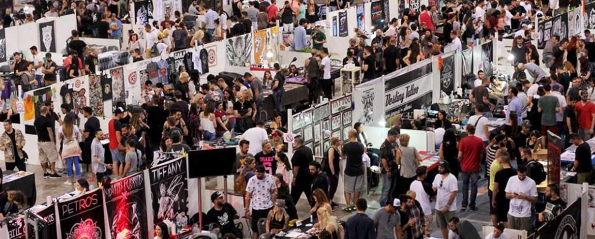 Το Rocking στο 11ο Athens International Tattoo Convention