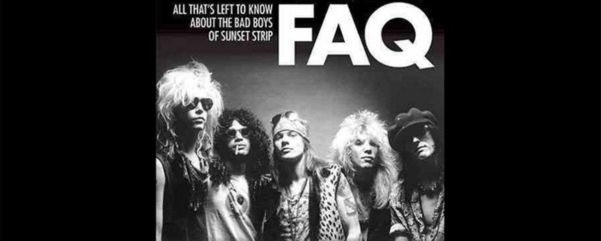 [Βιβλίο]: Guns N' Roses FAQ (Backbeat Books)