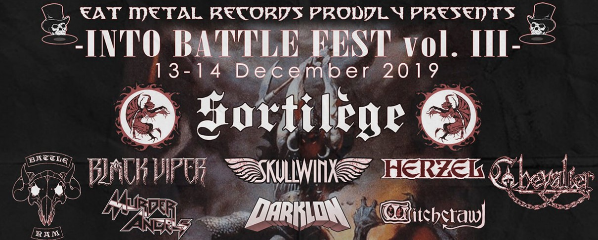 Into Battle Festival - Day 2 (Sortilege, Wotan, Battle Ram, Convixion κ.ά.) @ Κύτταρο, 14/12/19