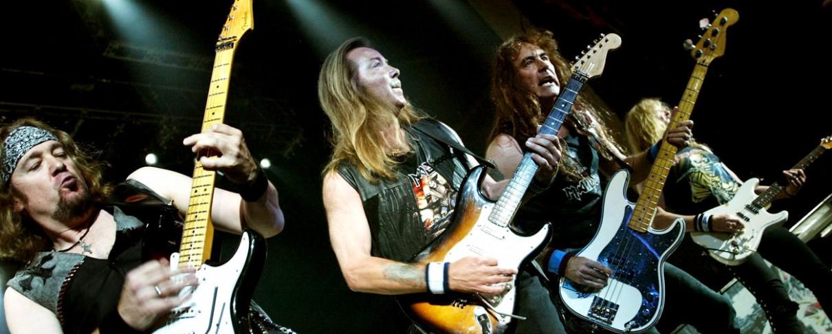 Iron Maiden @ Terra Vibe, 2005