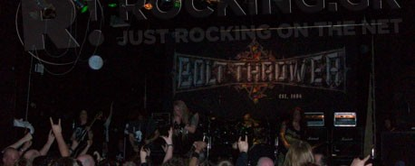 Bolt Thrower, Benediction, Rotting Christ, The Rotted, Ancient Ascendant @ ULU, Λονδίνο, 01/05/10
