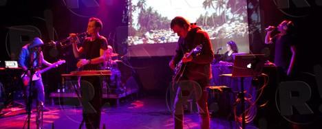 The Κilimanjaro Darkjazz Ensemble, The Mount Fuji Doomjazz Corporation @ Gagarin 205, 11/11/11