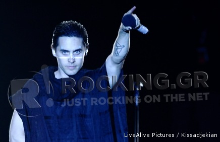 Thirty Seconds To Mars, Athens, Greece, 06/07/2011