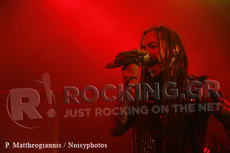 Amorphis, Athens, Greece, 13/11/2011