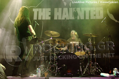 The Haunted, Athens, Greece, 22/10/2011