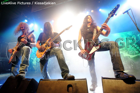 Iced Earth, Athens, Greece, 18/11/2011