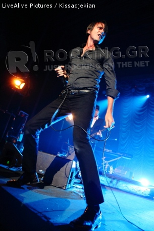 Suede, Athens, Greece, 11/09/2011