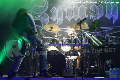Symphony X, Athens, Greece, 28/10/2011