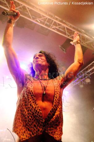 Virgin Steele, Athens, Greece, 06/11/2011