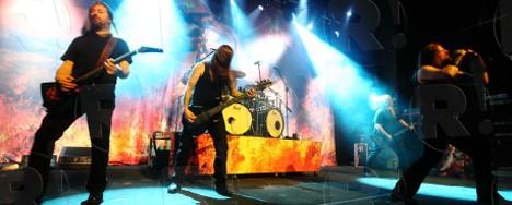 Amon Amarth, Karma Violens @ Fuzz Club, 22/04/12