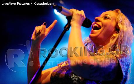 Anneke Van Giersbergen, Athens, Greece, 02/11/12