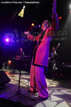 The Crazy World Of Arthur Brown, Athens, Greece, 09/03/2012