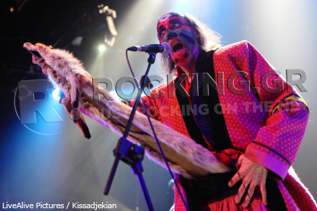 The Crazy World Of Arthur Brown, Athens, Greece, 09/03/2012