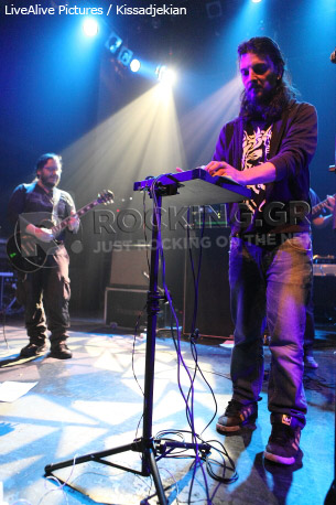 Socos & The Live Project Band, Athens, Greece, 09/03/2012