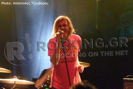 Awolnation, Bristol, U.K., 19/11/12