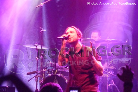 Billy Talent, Bristol, U.K., 19/11/12