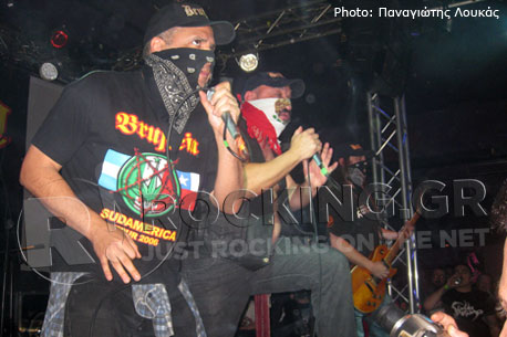 Brujeria, Athens, Greece, 22/12/12