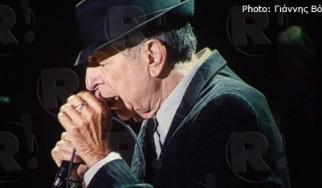Leonard Cohen @ Palau Sant Jordi, Βαρκελώνη, 03/10/12