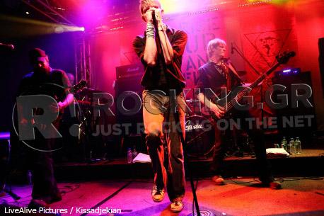 Crippled Black Phoenix, Athens, Greece, 08/03/2012
