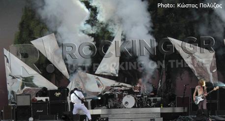 Biffy Clyro, Download Festival, U.K., 08/06/12