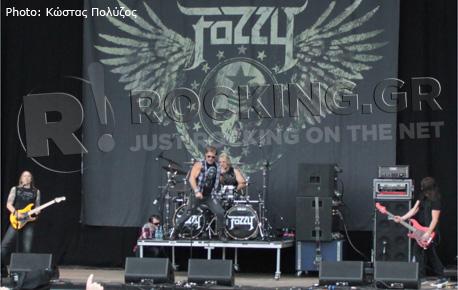 Fozzy, Download Festival, U.K., 08/06/12