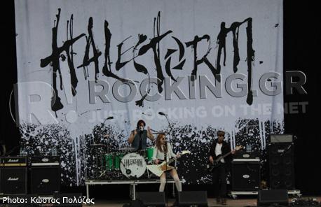 Halestorm, Download Festival, U.K., 08/06/12