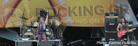Steel Panther, Download Festival, U.K., 08/06/12