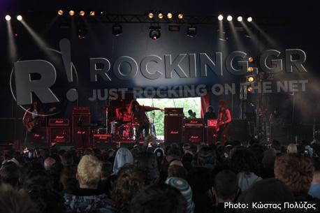 Turbowolf, Download Festival, U.K., 08/06/12